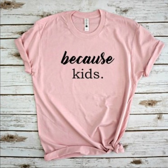 453df02a Plum Creek Boutique Tops | Funny Mom Shirts With Sayings Because ...